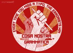 How I feel about grammar nazi.