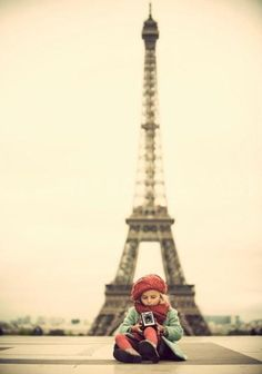 Is it me or is every photo taken in front of the eiffel tower just perfect? Always?