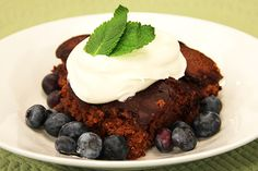 Canadian Living's slow cooker devil's food pudding cake.