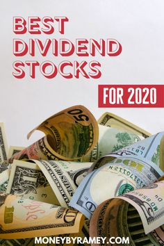 Dividend investing can make your income grow exponentially! Check out the Best Dividend Stocks to add to your portfolio in 2020 and beyond. Money Tips, Money Saving Tips, Managing Money, Financial Success, Financial Planning, Dividend Investing, Dividend Stocks, Wealth Creation, Thing 1