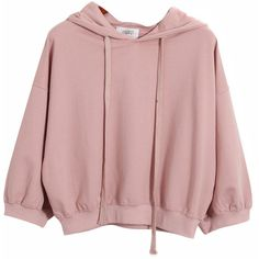 Chicnova Fashion Pure Color Hooded Sweatshirt (415 MXN) ❤ liked on Polyvore featuring tops, hoodies, sweatshirts, sweaters, shirts, shirt hoodies, sweatshirt hoodies, hoodie sweatshirts, pink hooded sweatshirt and pink hoodie sweatshirt