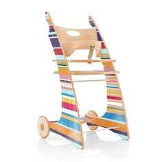 Yuunic - Collection High Chair, Stripes - single image