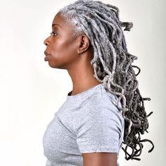 Dreadlock Styles, Dreadlock Hairstyles, Loose Hairstyles, Braided Hairstyles, Black Hairstyles, Wedding Hairstyles, Natural Hair Accessories, Natural Hair Styles, Grey Hair Inspiration