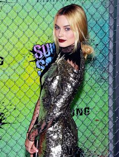 """Margot Robbie attends the world premiere of """"Suicide Squad""""  in New York."""