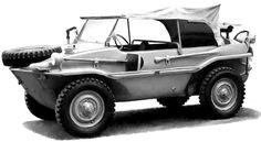 Schwimmwagen | Schwimmwagen «Typ 166» - Volkswagen
