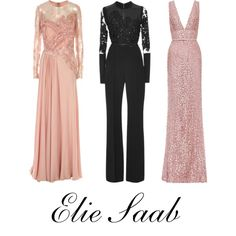 Elie Saab ♡ by hylls on Polyvore featuring polyvore, moda, style and Elie Saab