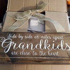 Grandkids Long Distance Gift Grandmother Gift Grandchildren   Etsy Photo Display Board, Photo Displays, Christmas Gifts For Grandma, Homemade Christmas Gifts, Grandmother Gifts, Grandpa Gifts, Wood Picture Frames, Picture On Wood, Grandchildren