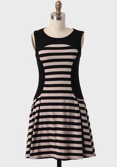 Port Kennedy Striped Dress #ruche #shopruche