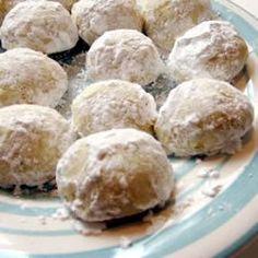 Polvorones De Almendra Italian Wedding CookiesMexican