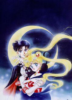 My very favorite manga and anime. Sailor Moon. Copyright of Naoko Takeuchi.