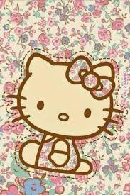 Resultado de imagen para hello kitty wallpaper for iphone yellow