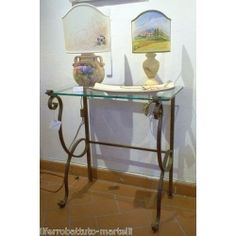 Wrought Iron Consolle Furniture. Customize Realizations. 312 Wrought Iron, Entryway Tables, Furniture, Ebay, Console, Home Decor, Decoration Home, Room Decor, Home Furniture