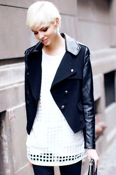 Black and White | Street Style | Edgy