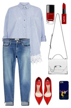 """""""2"""" by alin-dee on Polyvore featuring мода, River Island, Mackage, Frame, Chanel и NYX"""