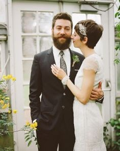15 Grooms With Big-Day Beards and Mustaches