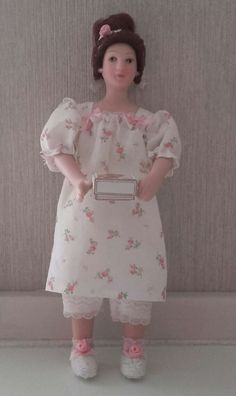 Lovely doll handmade by Jolanda Knoop