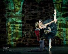 Swan Lake - Anna Tsygankova Matthew Golding Black Swan act