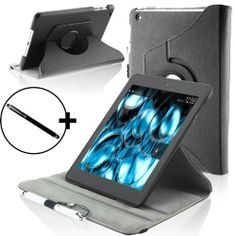"""ForeFront Cases® New Kindle Fire HDX 8.9"""" Rotating Leather Case Cover / Stand WILL ONLY FIT All-New Kindle Fire HDX 8.9"""" Tablet November 2013 with Magnetic Auto Sleep Wake Function + Stylus Pen by ForeFront Cases®, http://www.amazon.co.uk/dp/B00G3C9C6M/ref=cm_sw_r_pi_dp_Skeftb1ZYWXAP"""