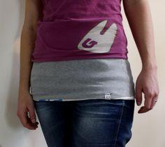 How to: Ein Nierenwärmer aus zwei T-Shirts