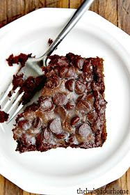 The Hub of our Home: Double Chocolate Zucchini Cake