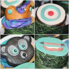 Disney's Brave cupcakes