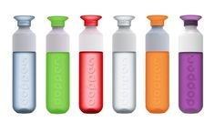 The clever design of the Dopper water bottle from Rinke van Remortel in the Red…