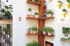 15 großartige Ideen, deine Zimmerpflanzen aufzustellen.