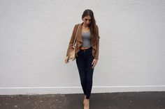 How To Wear A Suede Jacket 1 | This Is Teral