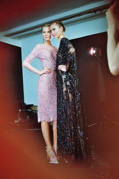 girlannachronism:  Elie Saab fall 2012 couture backstage