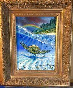 Maui Rainbow  9x12 by Robert Lyn Nelson  Oil painting on canvas  #art #painting robertlynnelson.com