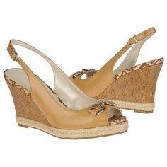 $68.99 Etienne Aigner Olexa Sandals Buff Beige Women`s Sandals class