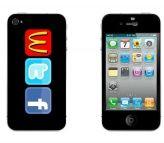 iPhone 4/4s WTF skin www.mayom.eu Iphone 4, Self