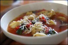 Pesto Chicken Tortellini Soup - MomAdvice