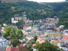 Zvolen, Slovakia (where my mother was born!)