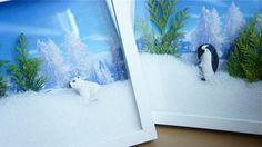 3D photoframe winter christma