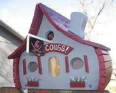 WSU birdhouse!!