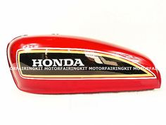Image of Cafe Racer Honda CG125 / Classic Red