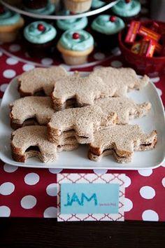 E por que sanduíche tem de ser quadrado? Invente mil formatos para eles e a criançada vai cair de boca em todos!