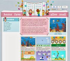 Tafels oefenen. Een mooie website waar kinderen door middel van spelletjes de tafels kunnen oefenen! Back 2 School, Pre School, Teacher Inspiration, Visa, Teaching Math, Maths, Multiplication, Creative Kids, Mathematics