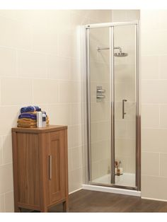 Curved glass shower door seal httpsourceabl pinterest kyra range bifold shower enclosure with clear shield easy clean glass and safety toughened glass shower door comes with easy glide double rollers planetlyrics Image collections