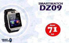 Profita acum de cel mai mic pret !  Ceas Telefon Smart Watch BlueTooth Camera MicroSim MicroSd - doar 71 lei Comenzile se fac online pe http://smartwatch-shop.ro/produs/smart-watch-dz09/ sau telefonic 0768.514.812 Ceasul SmartWatch Dz09 cu Display Touchscreen se conecteaza la toate dispozitivele mobile Android precum Samsung, Htc, Sony, Huawei, Lg, Allview precum si alte dispozitive care suporta Bluetooth. Poate fi utilizat ca telefon mobil independent datorita slotului microSIM fara…