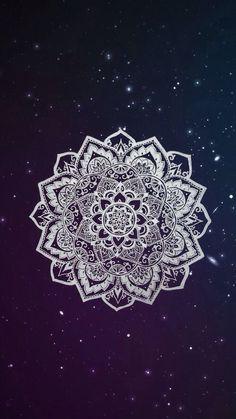 Henna Galaxy Wallpaper