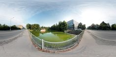 Panoramic photo from Zlin