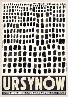 Ursynow, Polish Promotion Poster
