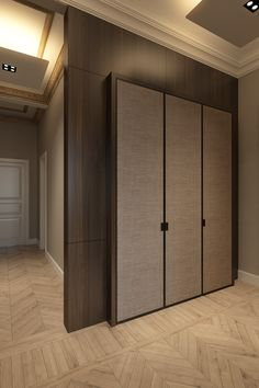 Apartment inspiration living room closet 29 New ideas Wardrobe Design Bedroom, Bedroom Bed Design, Bedroom Furniture Design, Bedroom Wardrobe, Modern Wardrobe, Wardrobe Door Designs, Closet Designs, Wardrobe Handles, Bedroom Cupboard Designs