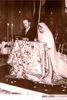 Dom Duarte Nuno de Bragança prince of Portugal + Dona Maria Francisca, princess de Orleães e Bragança