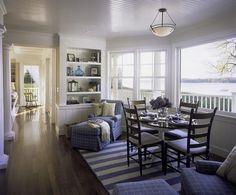Contemporary nautical interior design – Interior design in living room