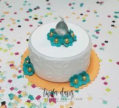 Stamp A Little Longer - FREE printable project sheet on my blog - altered tealight cake
