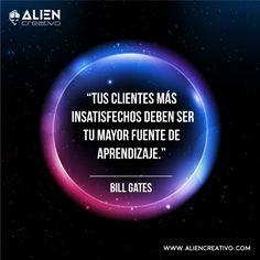 Tus #clientes son el activo más valioso que tienes, no olvides lo valiosos que son. #frases #Billgates #quote