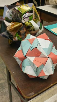 Modular origami project | Mr. MintArt